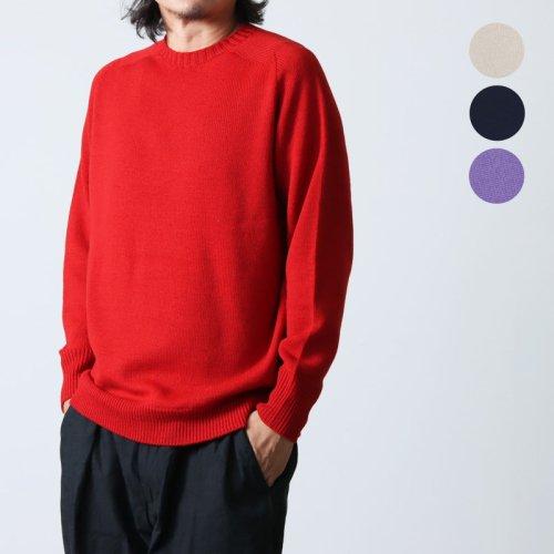 [THANK SOLD] Soglia (ソリア) LANDNOAH Sweater Crazy Pattern / ランドノアセーター クレイジーパターン #Men