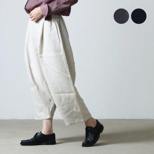 evameva (エヴァムエヴァ) Wool angora sarrouel pants / ウール アンゴラ サルエルパンツ