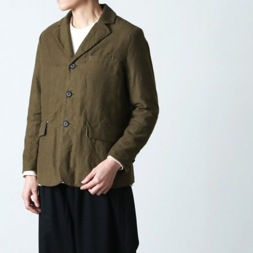 YAECA (ヤエカ) WRITE 3BUTTON WOOL JACKET / ライトスリーボタンウールジャケット