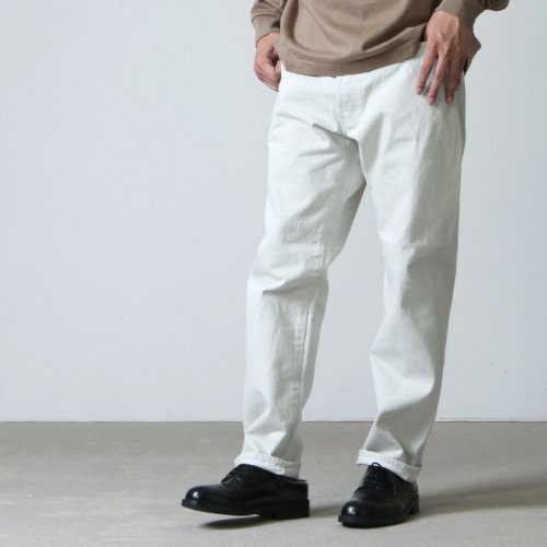 Ordinary Fits (オーディナリーフィッツ) 5POCKET ANKLE DENIM white one wash / 5ポケット アンクルデニム ホワイト