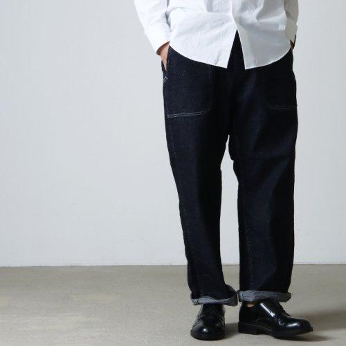 Ordinary Fits (オーディナリーフィッツ) 5POCKET MODERNS BLACK DENIM used / 5ポケット モダンブラックデニム ユーズド