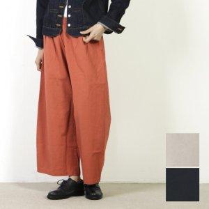 style + confort (スティールエコンフォール) リネンチノワイドイージーパンツ