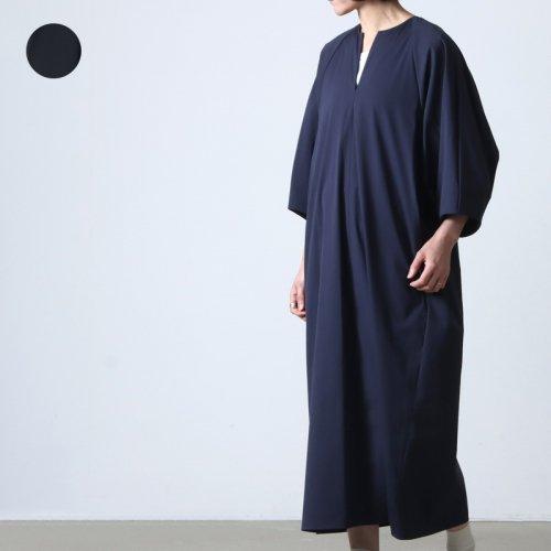 TICCA (ティッカ) スクエアビッグロングシャツ Five line stripe