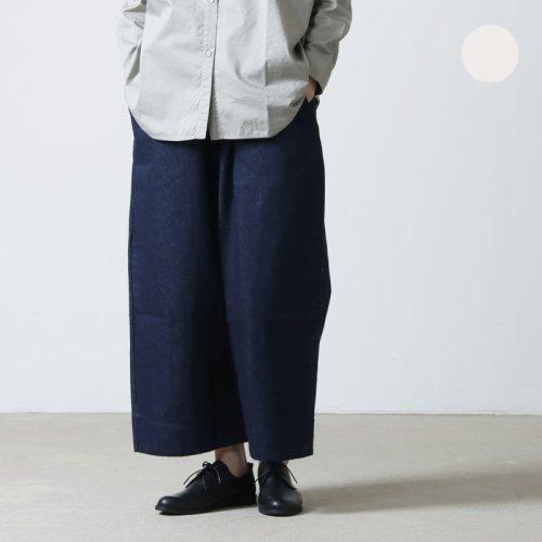 have a good day (ハブアグッドデイ) Denim volume pants For Women / デニムボリュームパンツ