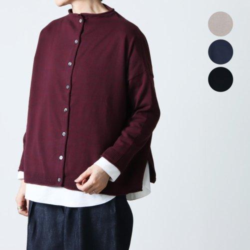 mao made (マオメイド) コットンレイヤードプルオーバー
