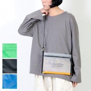 and wander (アンドワンダー) twin pouch set / ツインポーチセット