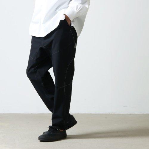 and wander (アンドワンダー) nylon climbing pants for man / ナイロンクライミングパンツ メンズ