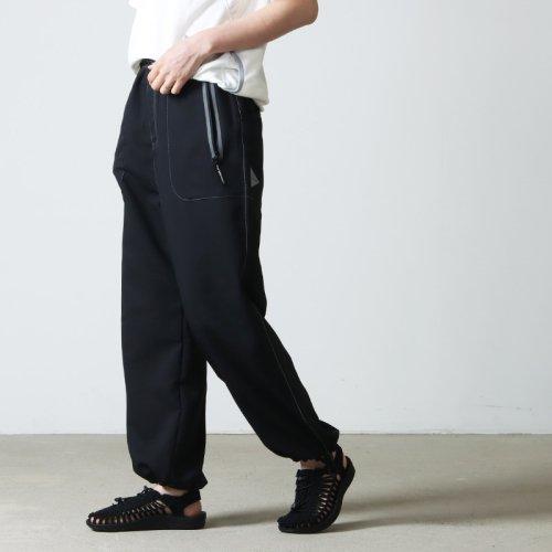 and wander (アンドワンダー) nylon climbing pants for woman / ナイロンクライミングパンツ レディース
