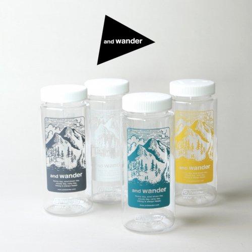 and wander (アンドワンダー) and wander nalgene bottle / アンドワンダー ナルゲンボトル