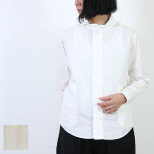 LOLO (ロロ) 定番プルオーバー型 前開き比翼シャツ / Women
