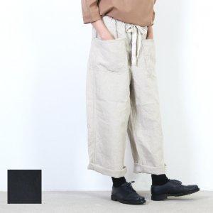 Ordinary Fits (オーディナリーフィッツ) DERRICK linen / リネンイージーワイドパンツ