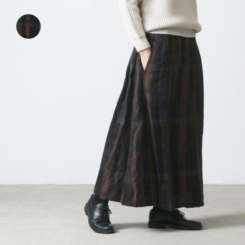 Vlas blomme (ヴラスブラム) リネンウールスカート