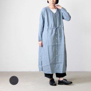 [THANK SOLD] UNIVERSAL TISSU (ユニバーサルティシュ) リネンガーメントダイローブドレス