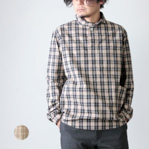 LOLO (ロロ) 定番プルオーバー型 グレンチェックシャツ / Men
