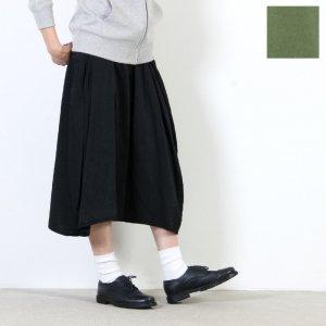 blanc basque (ブランバスク) ミリタリーサテンギャザースカート