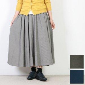 FACTORY (ファクトリー) コットン千鳥格子サーキュラースカート