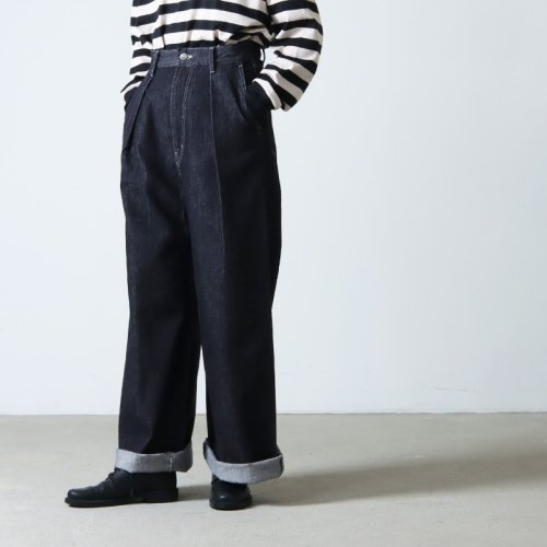 Graphpaper (グラフペーパー) Typewriter Cook Pant for Womens / タイプライターコックパンツ レディース