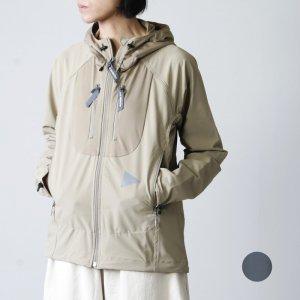 and wander (アンドワンダー) trek jacket 2 for woman / トレックジャケット2 レディース