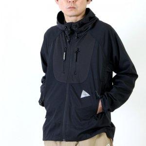 and wander (アンドワンダー) trek jacket For Men / トレックジャケット メンズサイズ