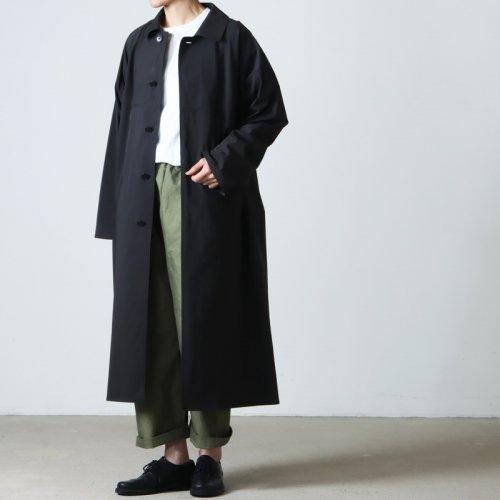 YAECA (ヤエカ) WRITE LONG SHIRT ONEPIECE / ライト ロング シャツ ワンピース
