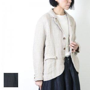 ICHI Antiquites (イチアンティークス) 東炊き二重織りリネンジャケット