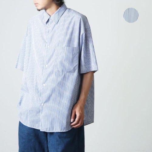 Graphpaper (グラフペーパー) Band Collar Shirt / バンドカラーシャツ