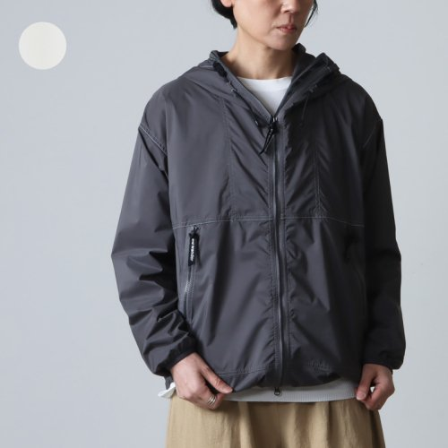 and wander (アンドワンダー) PERTEX wind jacket for woman / パーテックスウィンドジャケット レディース