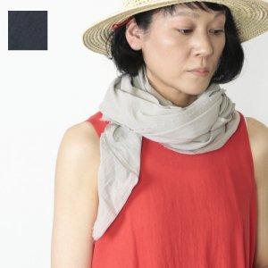 evameva (エヴァムエヴァ) Cotton georgette diagonal stole / コットンジョーゼットダイアゴナルストール