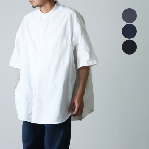 Graphpaper (グラフペーパー) Regular Collar Big Sleeve Shirt / レギュラーカラー ビッグスリーブシャツ