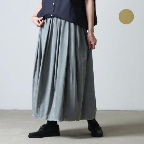 [THANK SOLD] FACTORY (ファクトリー) コットン 千鳥格子バルーンスカート