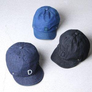 DECHO (デコー) BALL CAP -DENIM- / ボールキャップ デニム