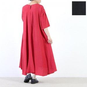 [THANK SOLD] SI-HIRAI (スーヒライ) リネンレーヨン ドレープドレス