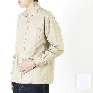 nisica (ニシカ) ルーズフィットボタンダウンシャツ