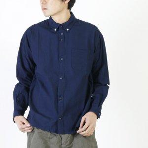 nisica (ニシカ) インディゴルーズフィットボタンダウンシャツ