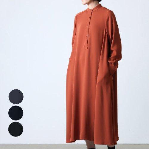 Graphpaper (グラフペーパー) Satin Band Collar Dress / サテンバンドカラードレス