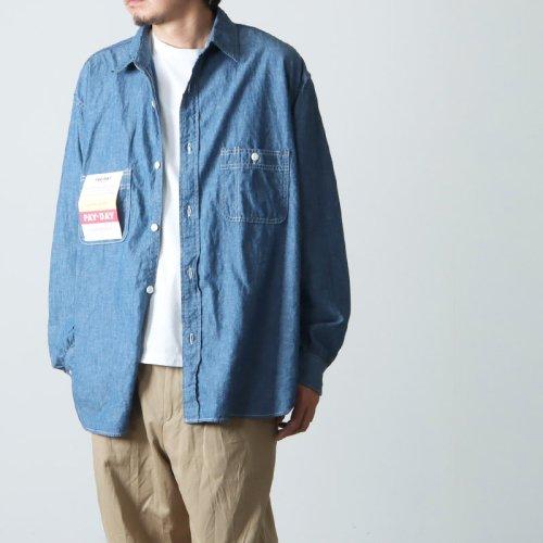 CAL O LINE (キャルオーライン) 60' STRIPE S/S SHIRT / 60'sストライプショートスリーブシャツ