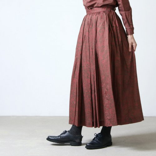 YAECA (ヤエカ) WRITE TUCK SKIRT / ライト タック スカート