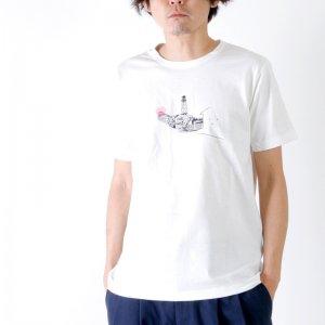 EEL (イール) HOME×小池アミイゴ / ホーム×小池アミイゴTシャツ