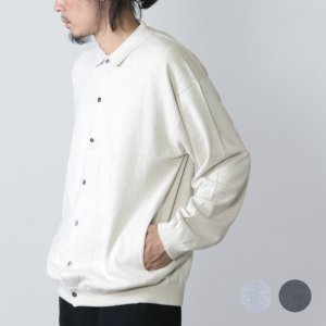 [THANK SOLD] crepuscule (クレプスキュール) knit shirts L/S / ニットシャツ ロングスリーブ
