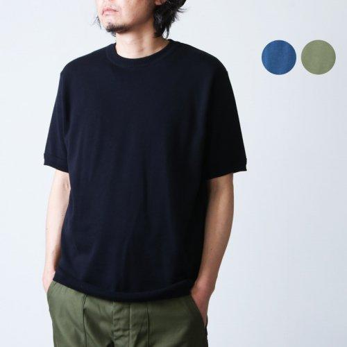 FUJITO (フジト) C/N Pocket Knit Tee / クルーネックポケットニットTシャツ