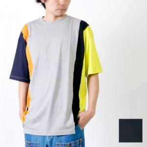 FLAMAND (フラマン) PANEL TEE MULTI / パネル Tシャツ マルチ