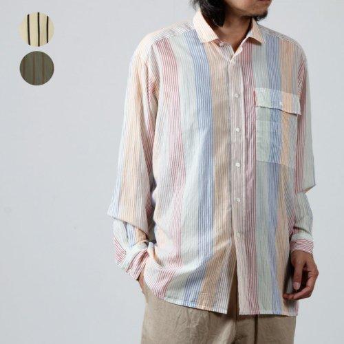 KAPTAIN SUNSHINE (キャプテンサンシャイン) Multicolorde Check Work Shirt / マルチカラーチェックワークシャツ