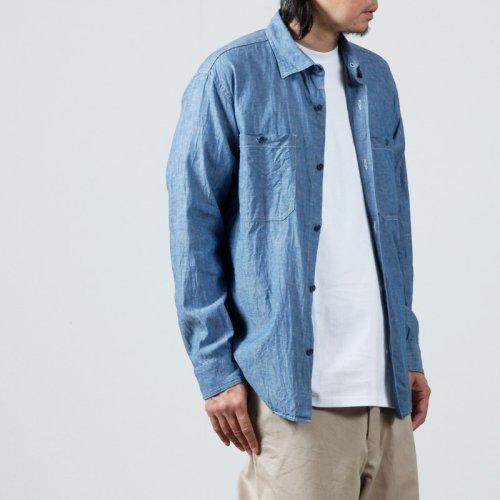 YAECA (ヤエカ) COMFORT SHIRT WIDE STRIPE / コンフォートシャツ ワイドストライプ