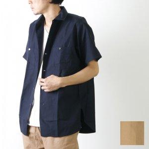 KAPTAIN SUNSHINE (キャプテンサンシャイン) Finx Cotton-Silk Light Weather Work Shirt / ライトウェザーワークシャツ