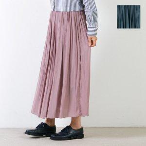 yangany (ヤンガニー) リンクルフレアロングスカート