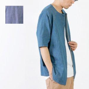 RICEMAN (ライスマン) Zip Up Half Sleeve Shirt / ジップアップ ハーフスリーブシャツ