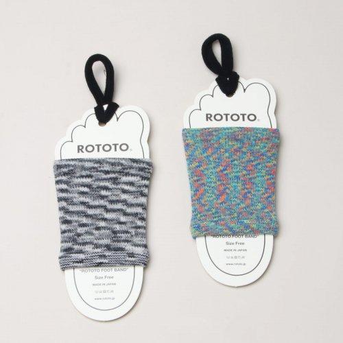 "RoToTo (ロトト) ROTOTO FOOT BAND ""KASURI"" / フットバンド カスリ"