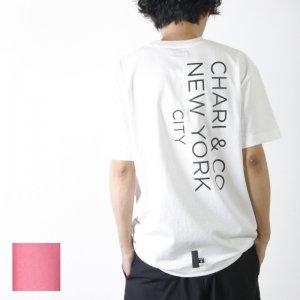 CHARI&CO (チャリアンドコー) BIG GOTHAM LOGO TEE / ビッグゴッサムロゴTシャツ