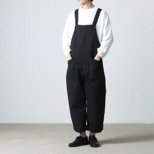 YAECA (ヤエカ) WRITE PULLOVER LONG SHIRT / ライト プルオーバー ロング シャツ