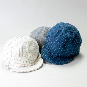 DECHO (デコー) BALL CAP -STRIPE- / ボールキャップ ストライプ